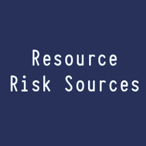 Resource Risk Sources