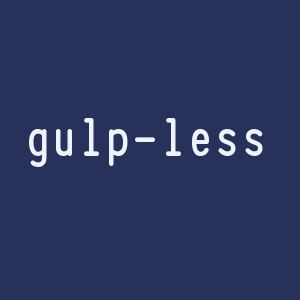 gulp less
