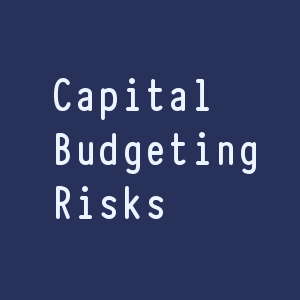 Risks in Capital Budgeting