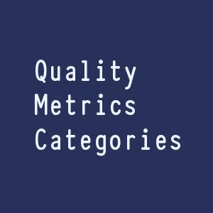 Categories of Quality Metrics