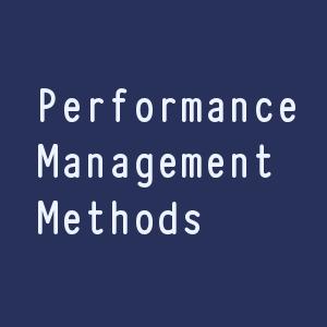 Modern Methods of Performance Management