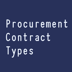 Procurement Contract Types