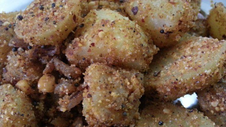chettinad baby potato fry